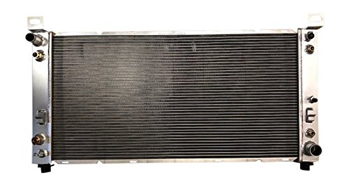 New All Aluminum Radiator for Cadillac Escalade/Chevrolet Avalanche, Silverado, Suburban, Tahoe/GMC Sierra, Yukon/Hummer H2 (Escalade Replacement Cadillac Radiator)