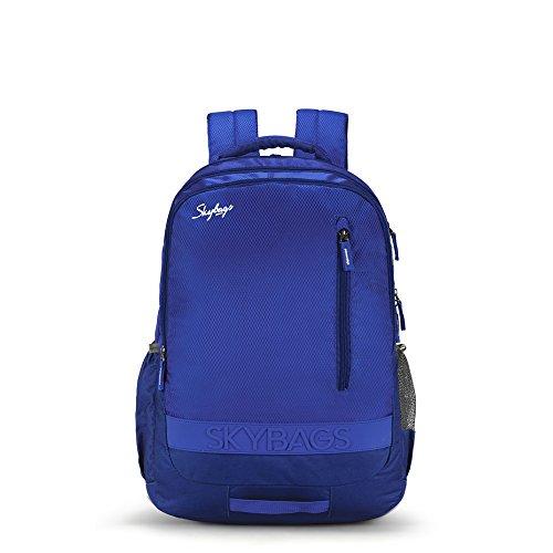 Skybags Bingo Extra 35.5005 Ltrs Blue School Backpack (SBBIE02BLU)
