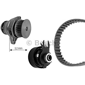 SEAT Ibiza II Cordoba SKODA VW BOSCH Timing Belt Kit + Water Pump 1.6L 1993-2004