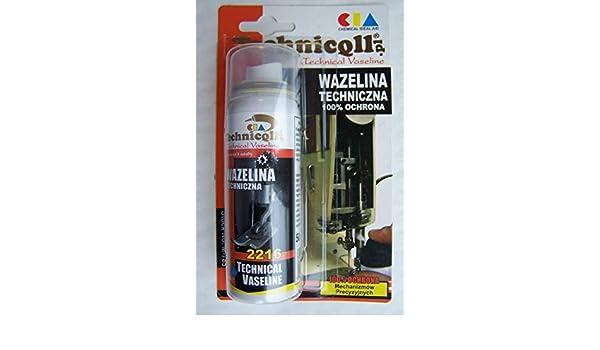 50 ml de uranio técnica para cerraduras bisagras candados Máquinas de Coser césped motores deportes equipamiento TECHNICQLL: Amazon.es: Electrónica
