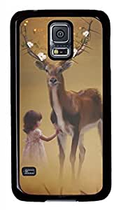 Distant Dream Black Hard Case Cover Skin For Samsung Galaxy S5 I9600