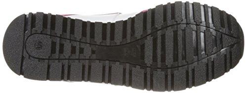 Love Moschino Women's Cut-Out Logo Running Shoe Fashion Sneaker, Fuchsia/Grey/Blue, 37 EU/7 M US by Love Moschino (Image #3)