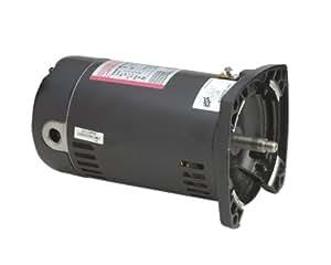 Century USQ1102 1 HP, 3450 RPM, 1.25 Service Factor, 48Y Frame, Capacitor Start/Capacitor Run, ODP Enclosure, Square Flange Pool Motor