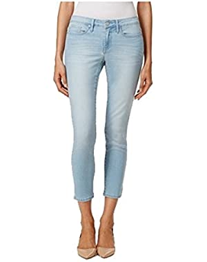 Jeans Womens Ankle Skinny Jean, Faded Sky