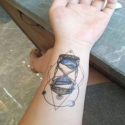 ljmljm 6 Piezas Impermeable Tatuaje Pegatina Mandala Color pájaro ...