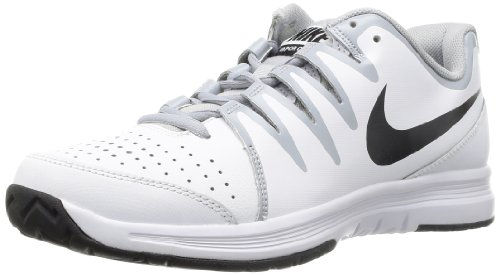 Nike Mens Vapor Court White/Wolf Grey/Black 9 D - Medium