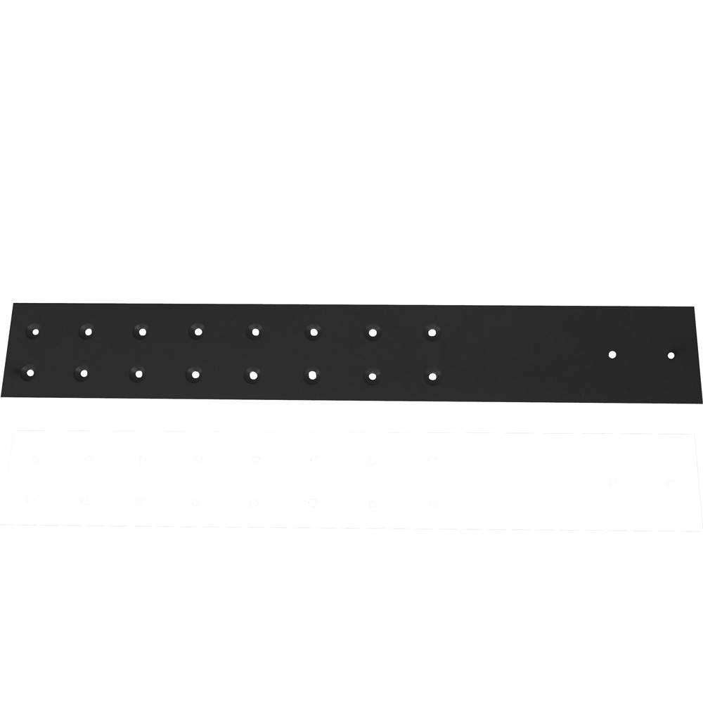 8-Pack FastCap 08176 3-1//2-inch by 12-inch 300 LB Black Stealth SpeedBrace