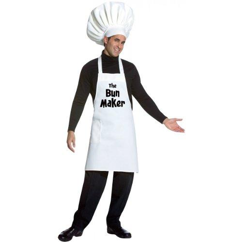 Rasta Imposta Bun Maker, White, One (Costumes Makers)