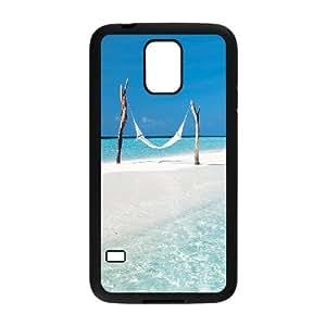 WJLCASE Design - 5WJL1320 Custom Beach Durable Hard Back Cover Case for SamSung Galaxy S5 I9600