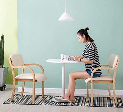Stable Salle À Manger Chaise En Bois Massif Maison Chaise En Bois Salle À Manger Chaise De Bureau Dossier Tabouret Ordinateur Durable (Color : E)