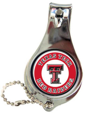 Game Day Outfitters 1937560 Texas Tech - Keychain Nail Clipper Bullseye - Case of 144 by Game Day Outfitters