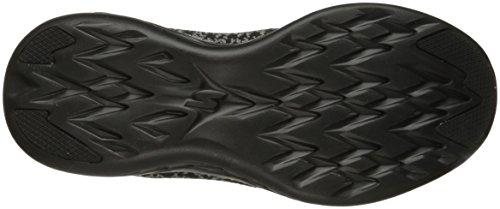 Black Skechers Noir Fitness Go Chaussures de 600 Femme Run q1zrq8