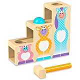 Melissa & Doug First Play Pound & Roll Stairs Baby Toy, Multi
