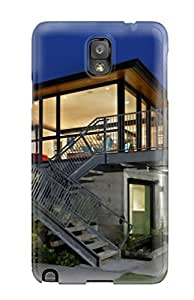Hot Snap-on Modern Houses Hard Cover Case/ Protective Case For Galaxy Note 3