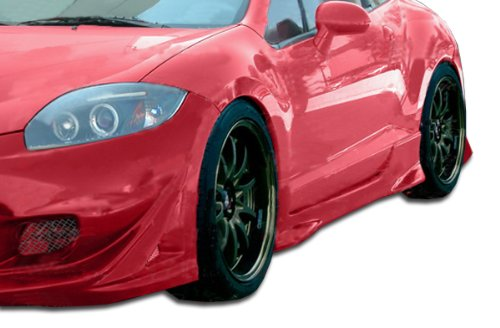 Duraflex ED-RGL-519 XGT Side Skirts Rocker Panels - 2 Piece Body Kit - Compatible For Mitsubishi Eclipse 2006-2012
