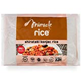 Miracle Noodle Shirataki Rice, Gluten-Free, Zero Carb, Keto, Vegan, Soy Free, Paleo, Blood Sugar Friendly, 7oz (Pack of 6)