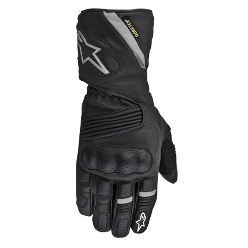 Alpinestars WR-3 Gore-Tex Waterproof Leather Gloves Black XL/X-Large