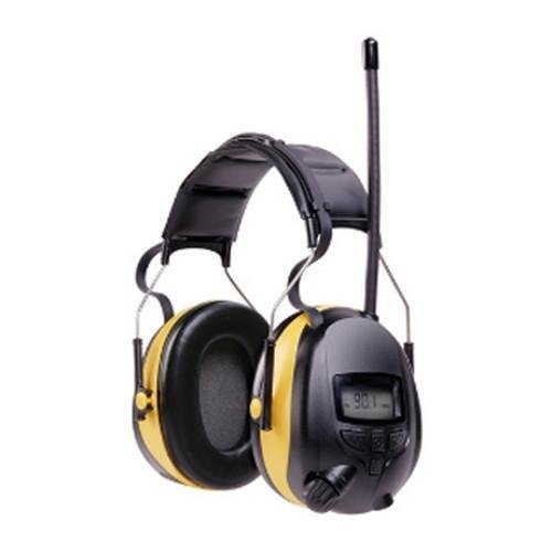3M Digital WorkTunes AM-FM Stereo - (Noise Canceling Radio)
