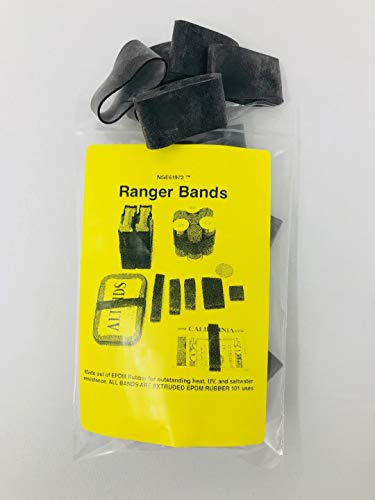 Ranger Bands Medium Wide (24 count) Made From EPDM Rubber for Survival and Strapping Gear Various Sizes Made in the USA