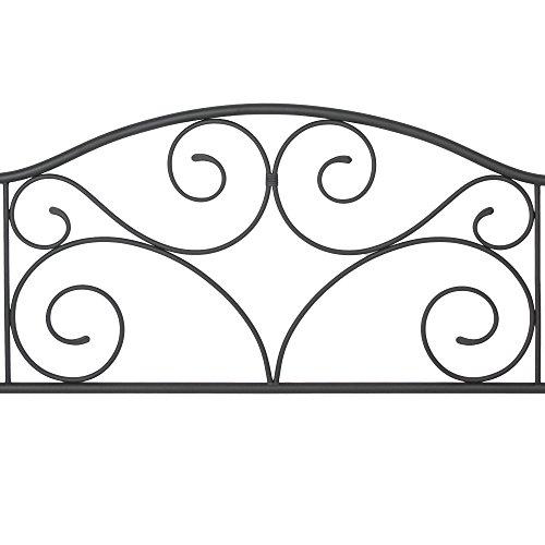 home, kitchen, furniture, bedroom furniture, beds, frames, bases, headboards, footboards,  headboards 9 discount Leggett & Platt Doral Metal Headboard Panel with Decorative deals