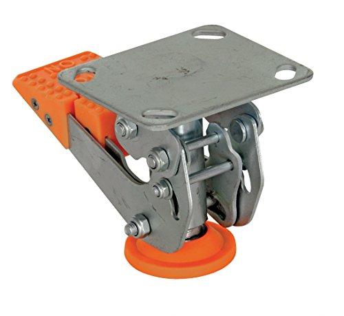 (Vestil FL-LKH-4 Floor Lock, Steel/Poly, 4-5/8