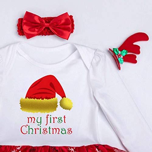 n Jumpsuit Longues Set bb Nouveau Manches Arichtop de Hat l Romper Christmas Robe No Bandeau 7anqA5wf