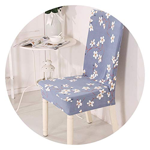 better-caress Elastic Stretch Spandex Chair Covers Fl Printing Anti-Dirty Kitchen Seat Case Dining Room fundas para sillas de comedor,Cr 22,Universal Size]()