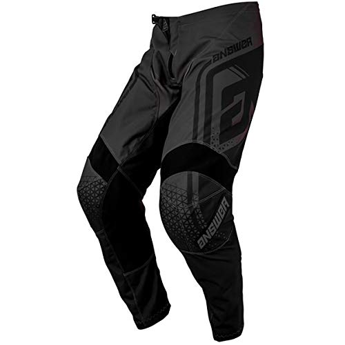 Answer Racing A19 Syncron Drift Men's Off-Road Motorcycle Pants - Charcoal/Black / 32