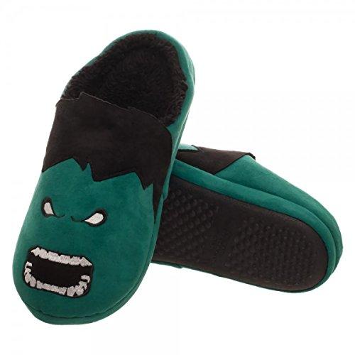 Slippers Scuff 3D Hulk Adult Marvel wR1YnIqp