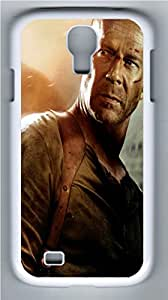 Die Hard 4 PC Case Cover for Samsung Galaxy S4 I9500 White by runtopwellby Maris's Diary