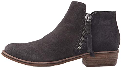 Dolce Vita Women's Sutton Ankle Bootie, Anthracite Suede, 7.5 UK/7.5 M US by Dolce Vita