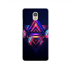 Cover It Up - Abstract Red&Blue P2 Hard Case
