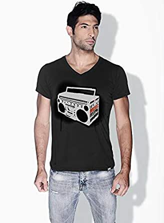 Creo Music Radio Trendy T-Shirts For Men - Xl, Black