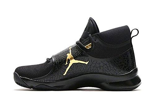 Men's Jordan Super Fly 5 Basketball Shoes Black/Metallic Gold-Black-Anthracite Sz 13 (Jordan Gold Shoes)