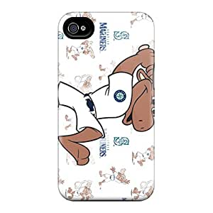 Hot New Seattle Mariners Case Cover For Iphone 4/4s With Perfect Design