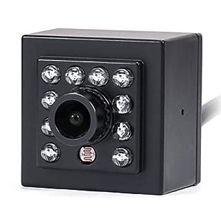 CrazyFire 1080P SDI IR Camera Indoor Mini Surveillance Camera,Digital Security Camera with 3.6mm Lens
