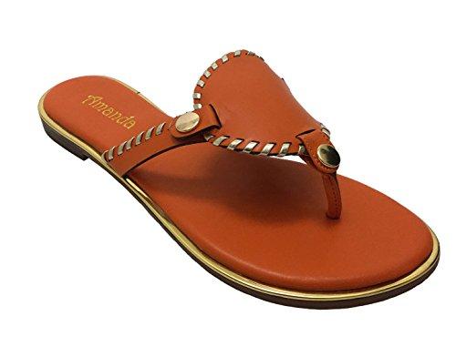 Avanti Amanda Delight Womens Sandalo Arancione