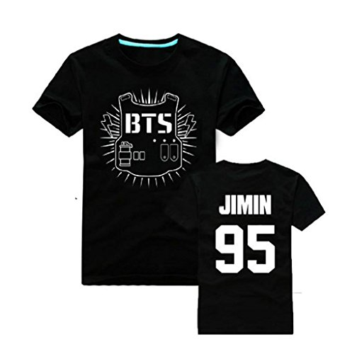 Fanstown BTS bangtan boy official same T shirt J-HOPE Jinmin V Rap monster