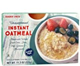 Cheap Trader Joe's Unsweetened INSTANT Oatmeal 11.3 oz (Pack of 2 boxes)