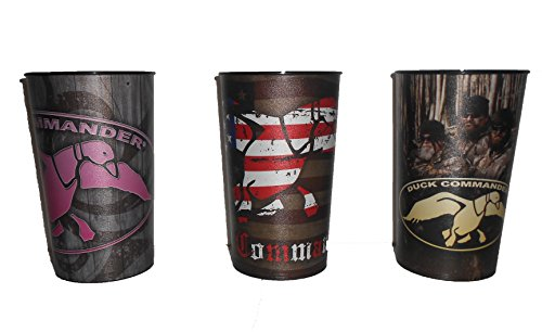 Duck Dynasty Tea Cups Set of 3 Camouflage Duck Commander Cups 16 -