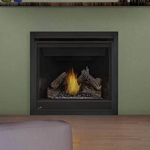 Napoleon Ascent 36-inch Built-in Direct Vent Natural Gas Fireplace W/Millivolt Ignition - B36ntr (Face Gas Fireplace)