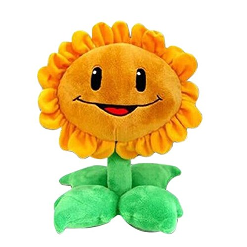 Shalleen Sunflowers Plants vs Zombies Pea Shooter Sunflower Squash Stuffed Plush Toys Doll Kids (Plants Vs Zombies Costumes For Sale)