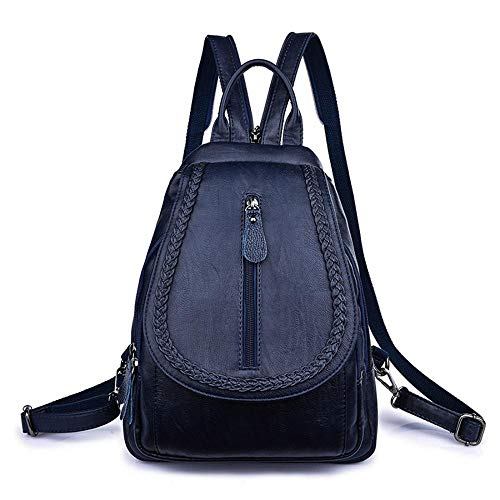 Azul al marrón Bolso hombro mujer para Oscuro única talla MANYYSI 865q4