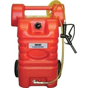 Amazon.com: Cubo de polietileno de gasolina Roughneck – 15 ...