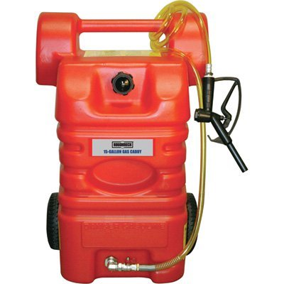 Poly Tote Tank - Roughneck Poly Fuel Caddy - 15-Gal. Capacity