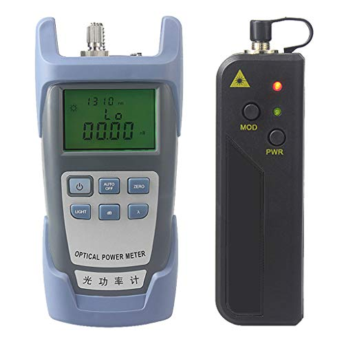 Prettyia A Set AUA-9 Fiber Optic Cable Tester Optical Power Meter with Sc & Fc Connector Fiber Tester +30mW Visual Fault Locator for CATV Test,CCTV Test by Prettyia (Image #3)