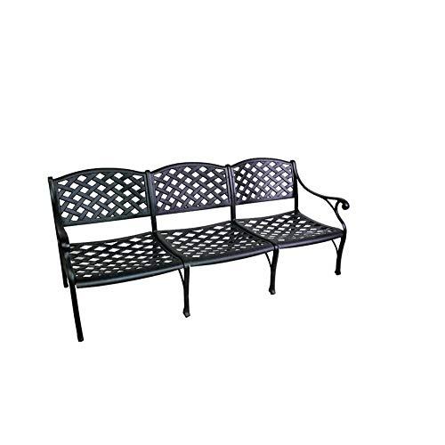 California Outdoor Designs Antique Bronze Deep Seating Metal Sofa + Free Basic Design Concepts Expert ()