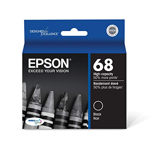 Epson T068120-S Ink Cartridge High Capacity (Black) in Foil Packaging (Epson Ink Cartridges For Nx400)