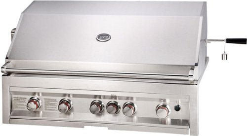 "42"" Infrared 5 Burner Natural Gas Grill with Lights SUNSTONE"