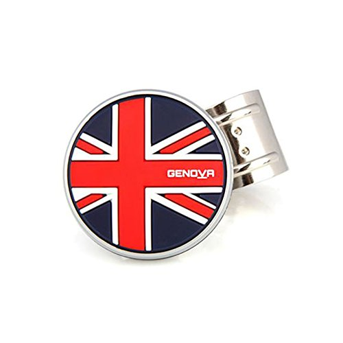 Genova Blackjack Power Handle Union-Jack Steering Wheel Knob Spinner